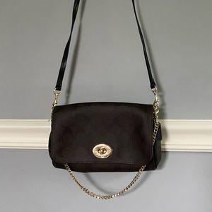 Coach Monogram Crossbody Handbag NWOT